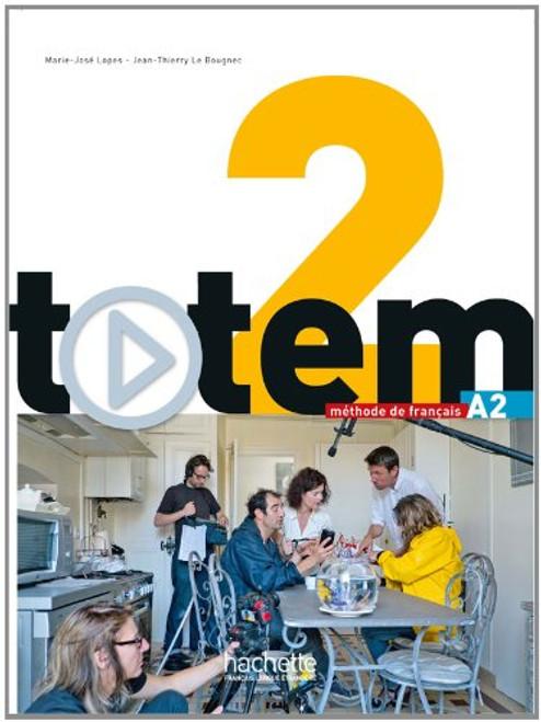 Totem niveau 2 -  Methode de Francais (A2) + DVD-Rom