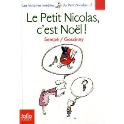 French book Petit Nicolas (le), C'est Noel - Hist. Inedites vol 7
