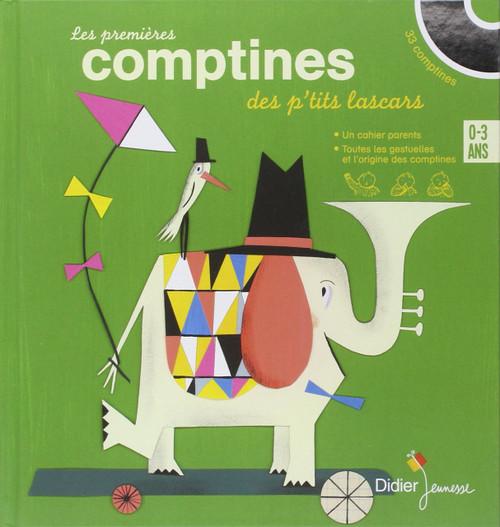 Les premieres comptines des p'tits lascars 0-3 ans (With CD)