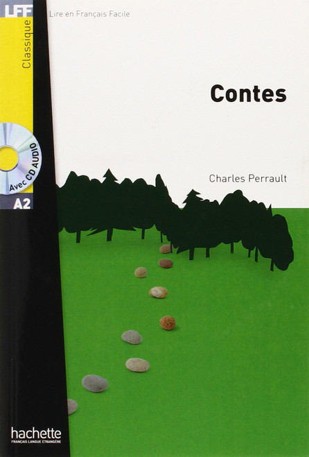 Contes (with CD audio MP3) - Perrault - Easy reader A2