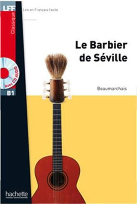 Le barbier de Seville (with CD audio MP3) - Beaumarchais - Easy reader B1
