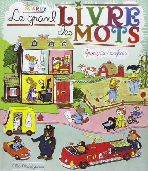 Le grand livre des mots francais anglais