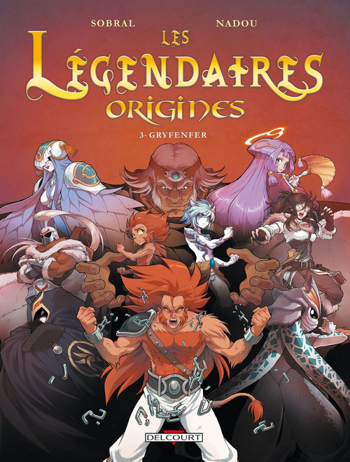 Les Legendaires Origines T3: Gryfenfer
