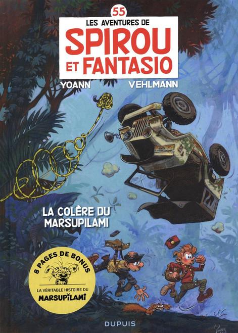 Spirou et Fantasio, Tome 55, La colère du Marsupilami