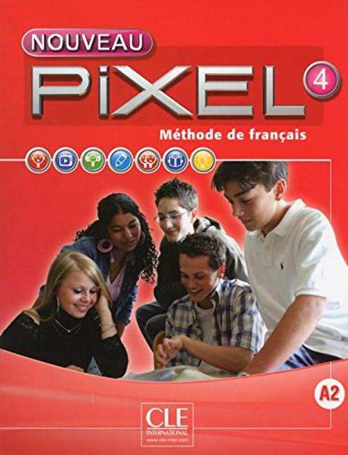 Nouveau Pixel 4 Livre Eleve A2 with DVD-rom