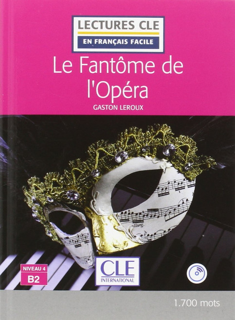 Fantome de l'opera + CD audio  Easy reader B2