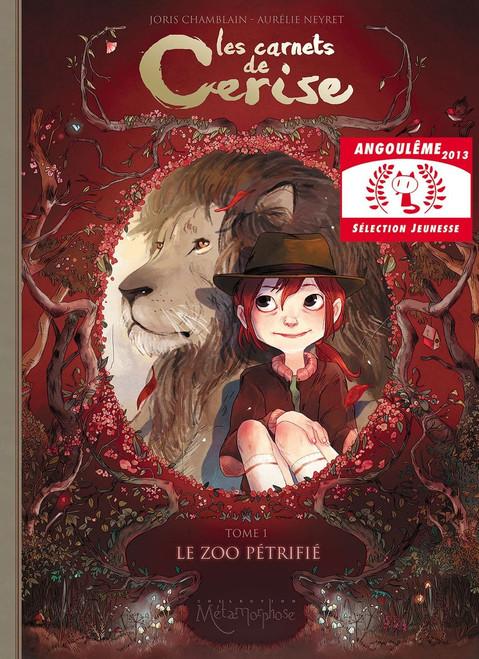 Les Carnets de Cerise T1, Le zoo petrifie