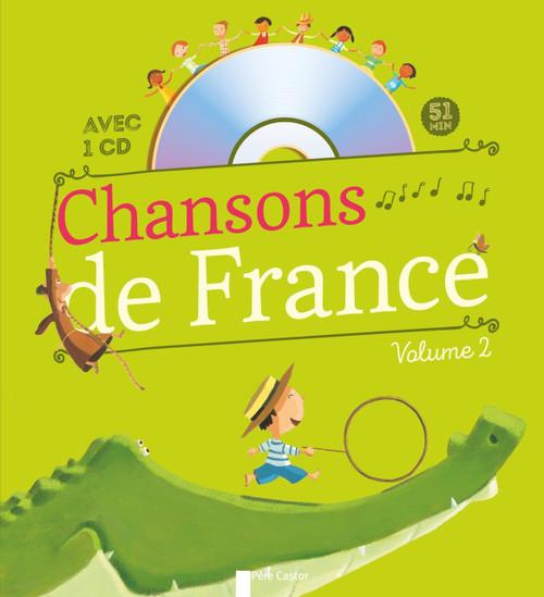 Chansons de France pour les petits - Vol 2 (With CD)