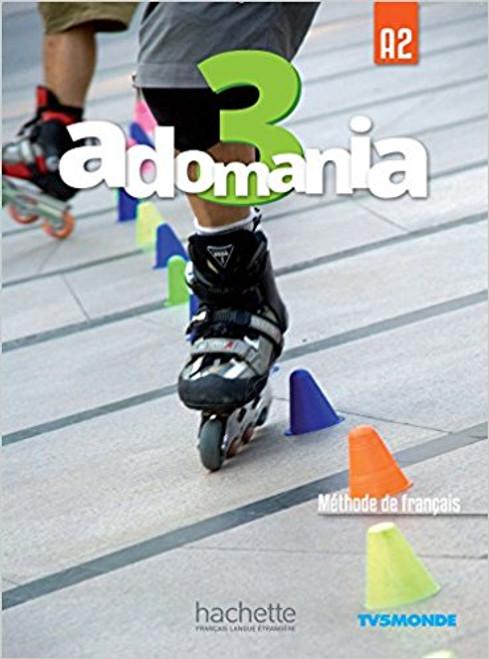 Adomania 3 Methode de Francais + DVD-Rom (A2)