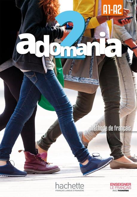 Adomania 2 Methode de Francais + DVD-Rom (A1-A2)