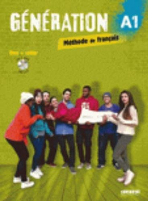 Generation A1 Methode de Francais Livre + cahier + CDmp3 + DVD