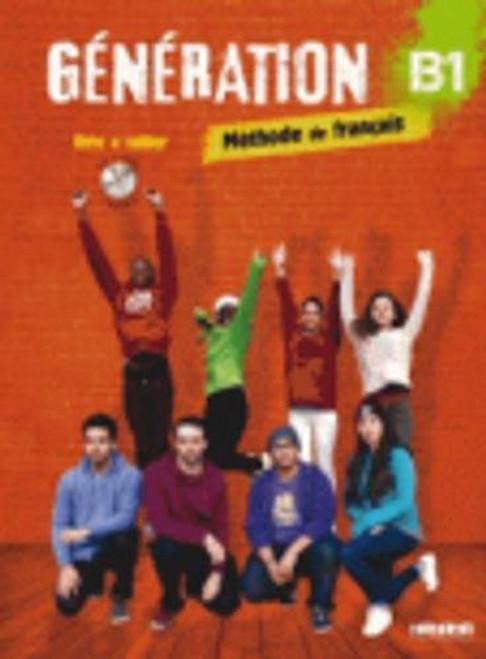 Generation 3 B1 Methode de Francais Livre + cahier + CDmp3 + DVD