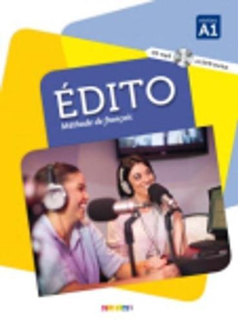 Section: French Language learning textbooks Le nouvel Edito A1 Livre Eleve Methode de Francais  ISBN-13:  9782278083183 Author: Marion Alcaraz Published by: Didier