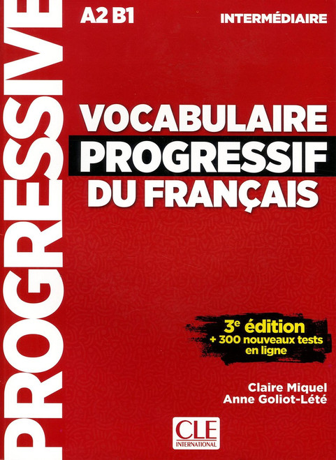 Vocabulaire progressif du francais -  Intermediaire A2B1 (with CDaudio) - 3e edition