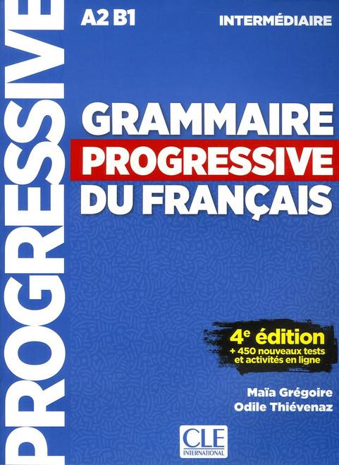 Grammaire progressive du francais -  Intermediaire 680 ex - 4eme edition (A2B1)