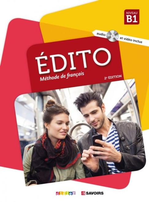 French Language learning textbook Edito B1 Methode de Francais 2e edition