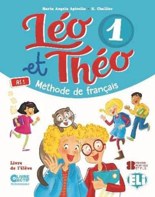 French textbook  Leo et Theo 1 - Livre eleve A1.1 Methode de Francais