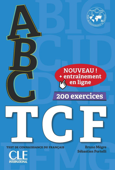 abc TCF test de connaissance du francais + corriges + CD audio (French edition 2018)