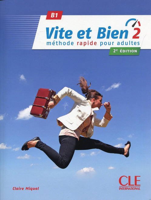 Vite et bien Niveau 2 with audio CD (B1) - Methode rapide our adultes 2eme edition  -256 pages - 8.7 x 0.6 x 11.3 inches Author: Miquel, Claire Published by: Cle International ISBN-13: 9782090385243 Section: French Language learning textbook