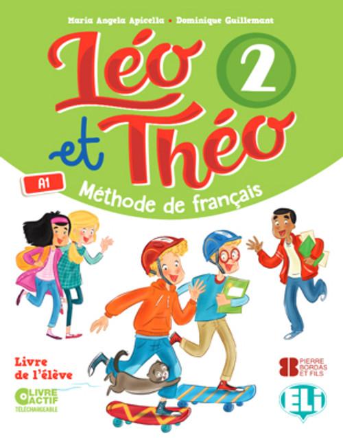 French textbook Leo et Theo 2 - Livre eleve A1 Methode de Francais