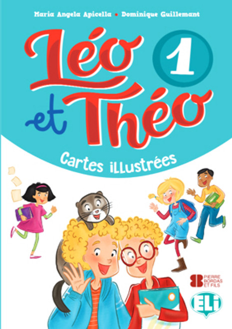 Leo et Theo 1 - Cartes illustreees A1.1