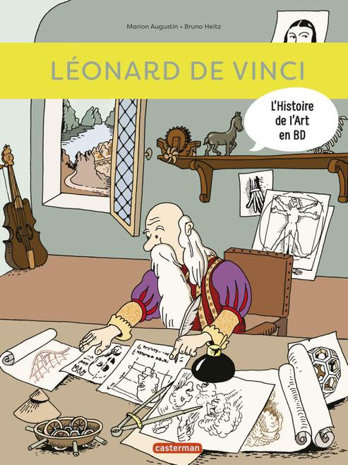 L'histoire de l'art en BD: Leonard De Vinci