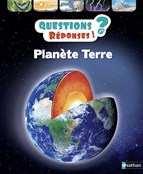 Questions Reponses 7+. Planete terre