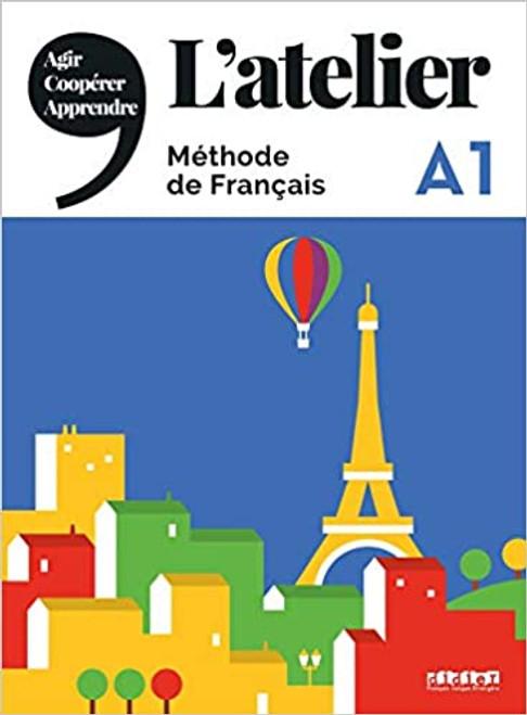 L'atelier Methode de Francais + DVDrom - A1