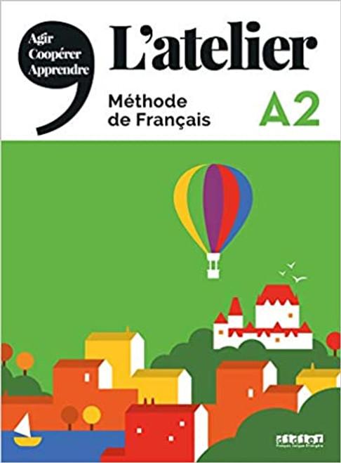 L'atelier Methode de Francais + DVDrom - A2