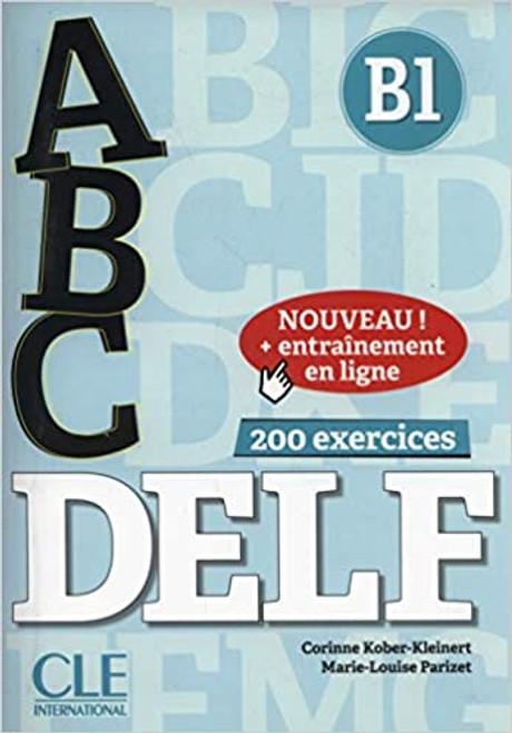 abc DELF B1 200 exercices with livret and CD mp3 audio + entrainement en ligne