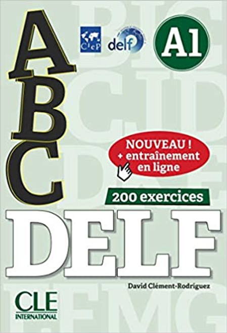 abc DELF A1 200 exercices with livret and CD mp3 audio + entrainement en ligne