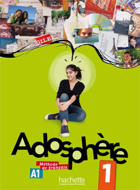 French textbook Adosphere 1 Methode de Francais