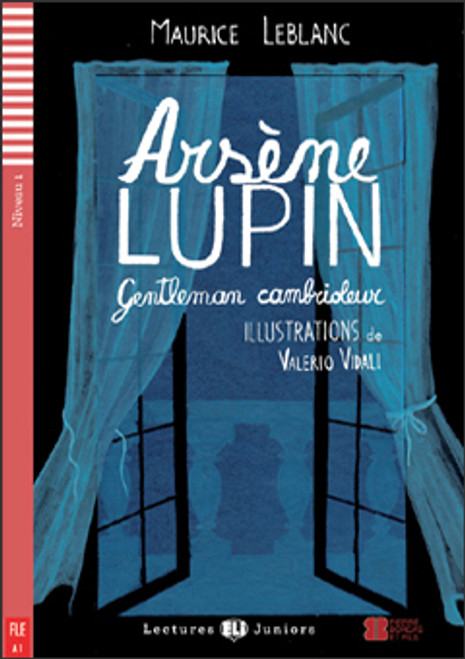 French easy reader Arsène Lupin - Gentleman cambrioleur (with CD downloadable)