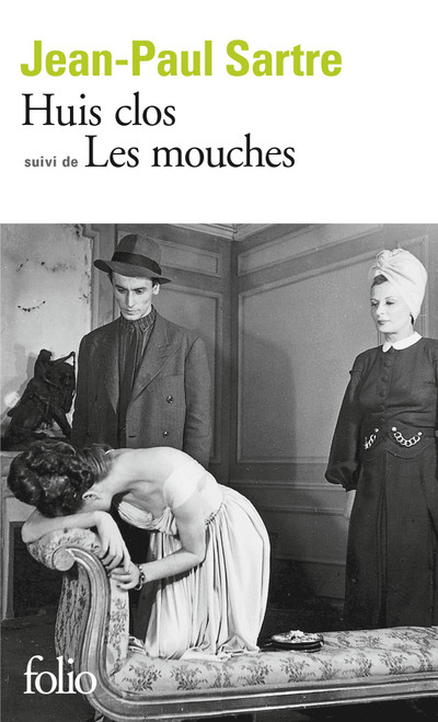 French book Huis Clos suivi de Les mouches