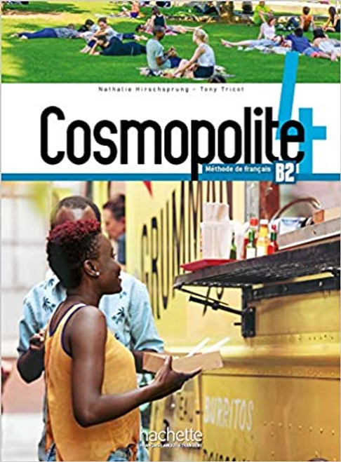 French textbook Cosmopolite Niveau 4 Livre de l'eleve + DVD-Rom B2