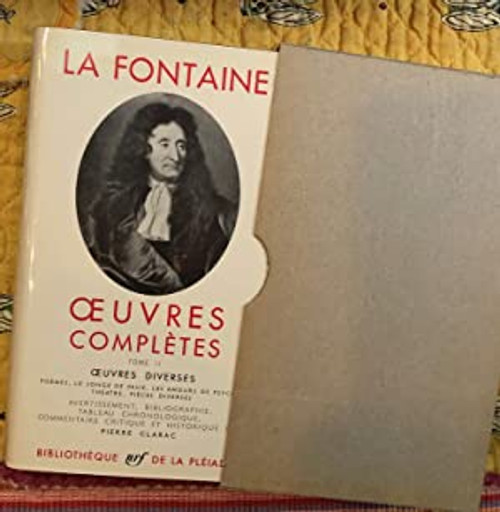 Oeuvres completes Tome 2 - La Fontaine