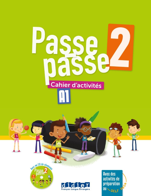 Passe-Passe 2 Cahier activites + CD A1