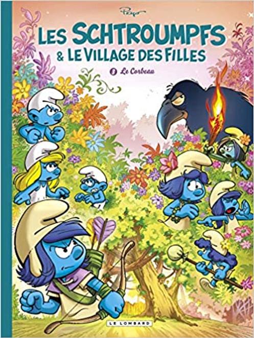 Les Schtroumpfs et le village des filles T3 - Le corbeau