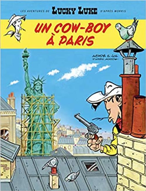 Lucky Luke N08 - Un cow-boy a Paris (les nouvelles aventures)
