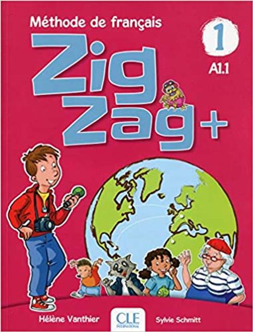 ZigZag 1 PLUS.  Eleve with audio CD