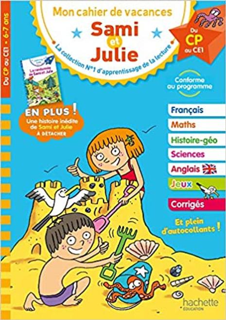 Cahier de vacances Sam et Julie du CP au CE1