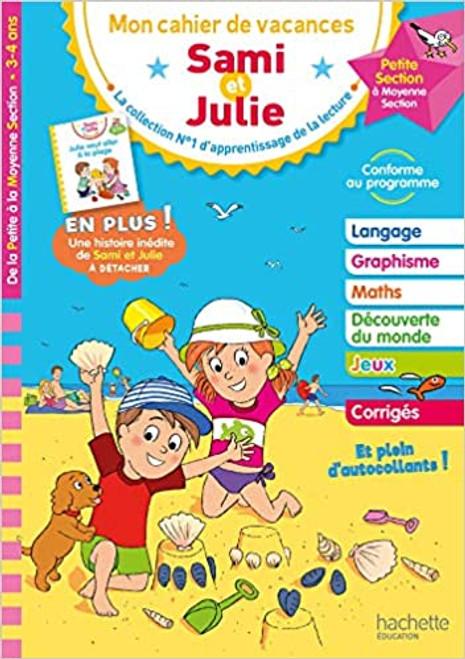 Cahier de vacances Sami et Julie du PS au MS