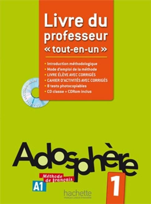 Adosphere 1 Livre du professeur A1.1 + cd-rom