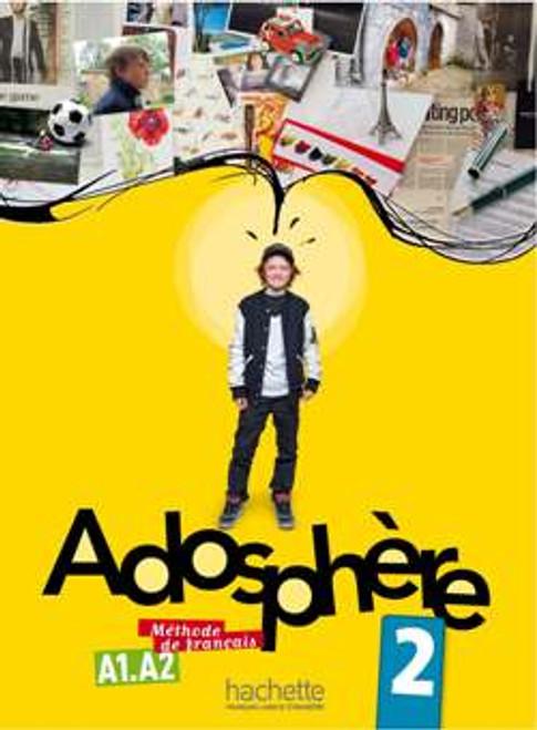 Adosphere 2 Methode de Francais + CD audio