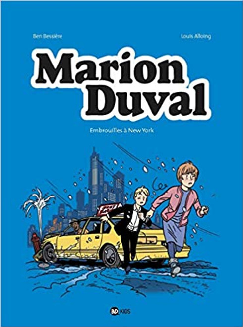 Marion Duval T27: Embrouilles à New York - French comic book
