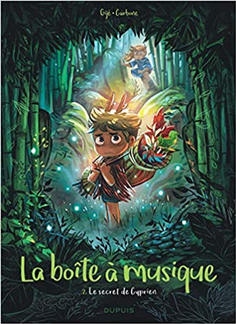 French comic book La boite a musique - Tome 02 Le secret de Cyprien