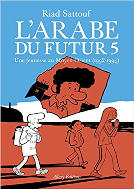 French comic book  L'arabe du futur - Vol 5
