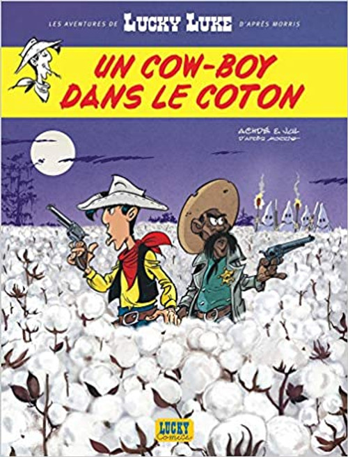 French comic book Lucky Luke N09 - Un cow-boy dans le coton