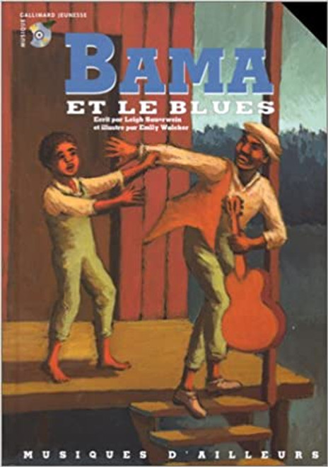 French book Bama et le Blues (Livre + CD)