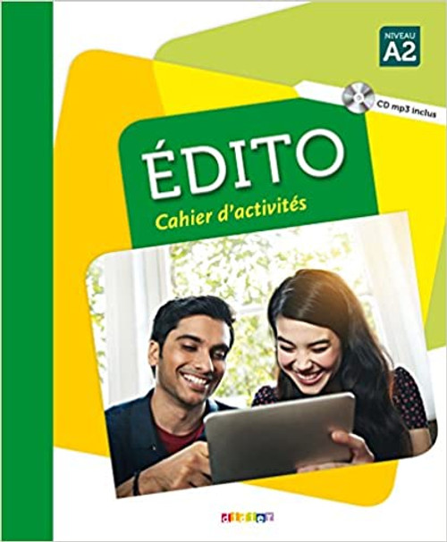 French textbook Edito A2 Cahier d'activites